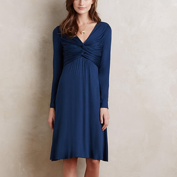 Anthropologie Dresses & Skirts - ANTHROPOLOGIE Bailey 44 Gathered Jersey Dress